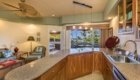Kitchen in Spacious condo overlooking Kahalu'u beach